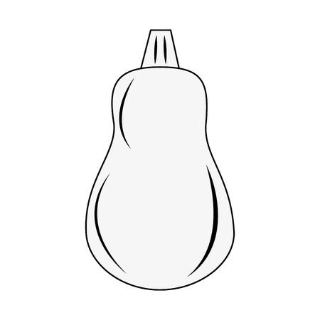 Papaya fruit isolated icon vector illustration graphic design
