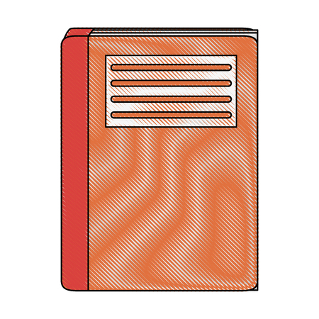 Book closed isolated icon vector illustration graphic design