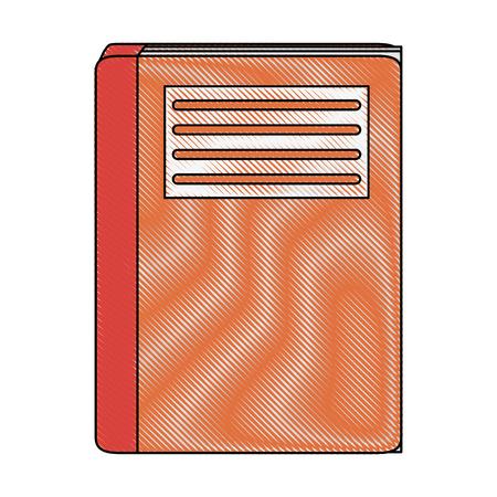Book closed isolated icon vector illustration graphic design