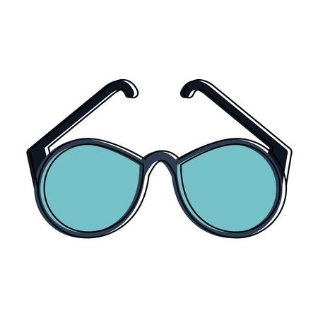 Fashion sunglasses isolated icon illustration graphic design.
