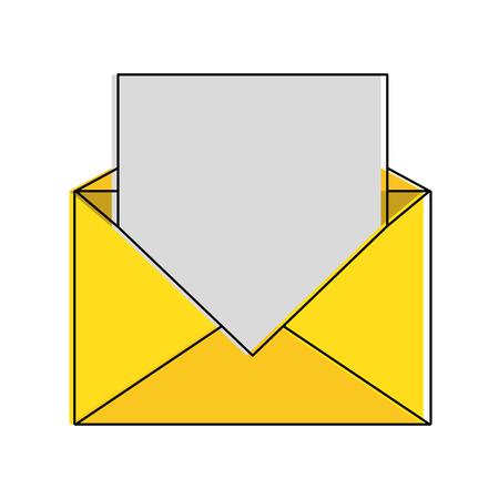 Mail or email symbol icon vector illustration graphic design Vettoriali
