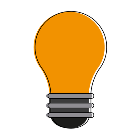 Bulb light year icon vector illustration graphic design