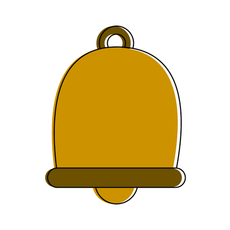 Bell isolated symbol icon vector illustration graphic design
