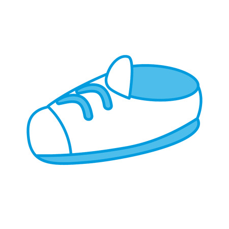Cute boot cartoon icon vector illustration graphic design