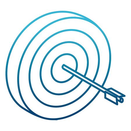 Target dartboard symbol icon vector illustration graphic design Illustration