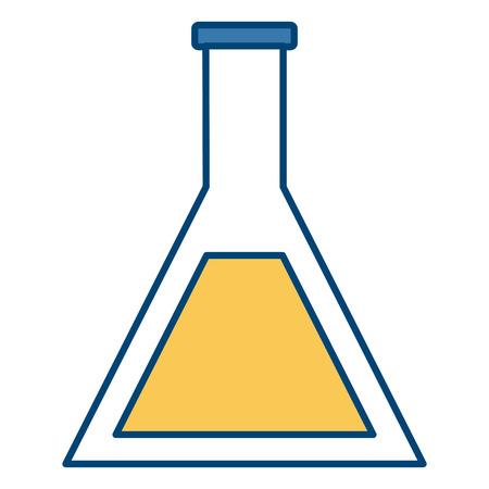 Laboratory flask symbol icon vector illustration  graphic  design