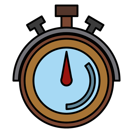 Timer Chronometer Symbol Symbol Vektor-Illustration Grafik-Design