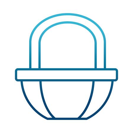 Market basket symbol icon vector illustration  graphic  design
