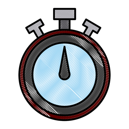 Timer chronometer symbol icon vector illustration graphic design