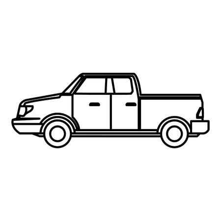 Pick up vehicle icon vector illustration graphic design Illustration