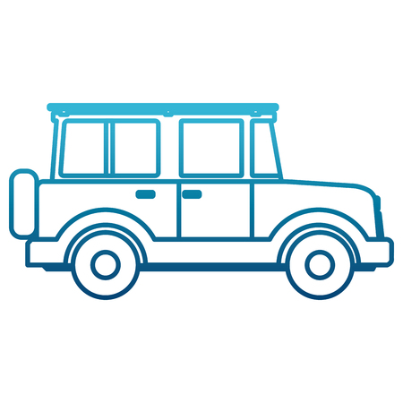 Off road sport truck icon illustration graphic design.