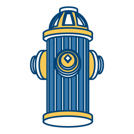 Hydrant isolated symbol icon vector illustration graphic design