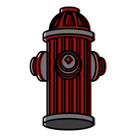 Hydrant icon illustration. Stock Illustratie