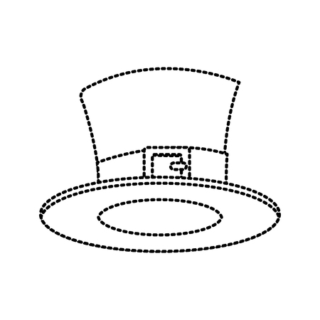 Magician hat isolated icon vector illustration graphic design