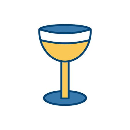 Chalice isolated symbol icon illustration graphic design.