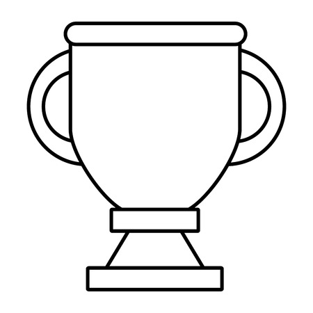 Trophy cup symbol icon vector illustration graphic design Stock Illustratie