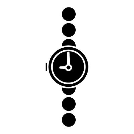 Wristwatch isolated symbol icon vector illustration graphic design