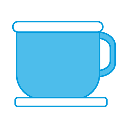 Coffee in mug icon vector illustration graphic design Illusztráció