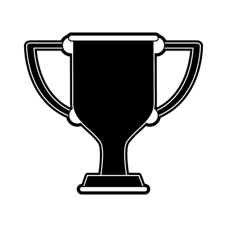 Cup trophy symbol icon vector illustration graphic design