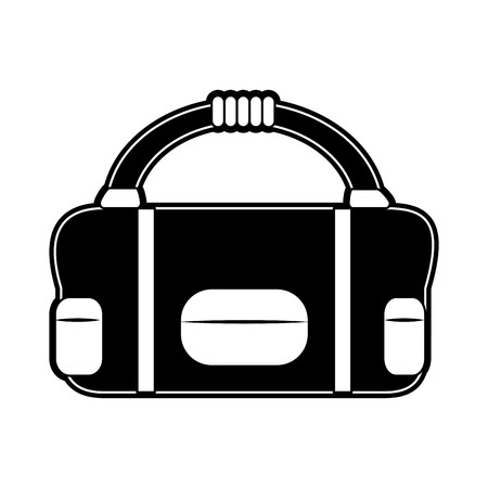 Sport bag isolated icon vector illustration graphic design