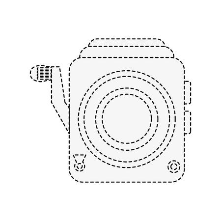 Retro camcorder symbol icon vector illustration graphic design Stock Illustratie