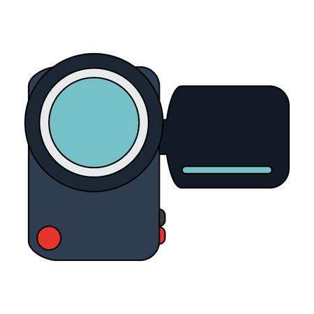 Ícone de tecnologia de câmera de vídeo digital. Design gráfico de ilustração vetorial.