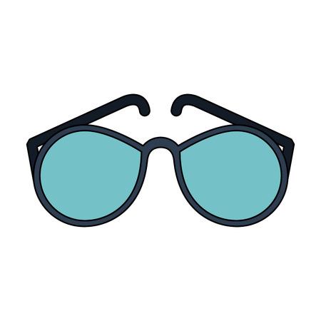 Fashion sunglasses isolated icon. Vector illustration graphic design.
