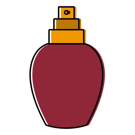 Fragrance bottle isolated icon vector illustration graphic design Illustration