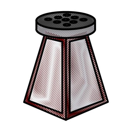 Salt shaker bottle icon vector illustration graphic design Illustration
