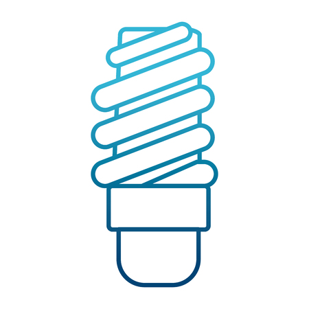 Spiral bulb light icon. Vector illustration graphic design.