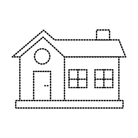 House real estate symbol icon