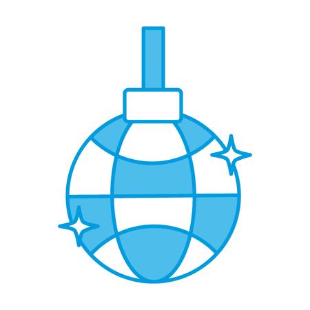 Disco ball symbol icon vector illustration graphic design