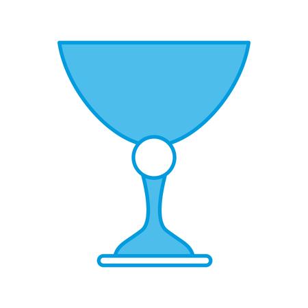 Sacred chalice symbol icon vector illustration graphic design.