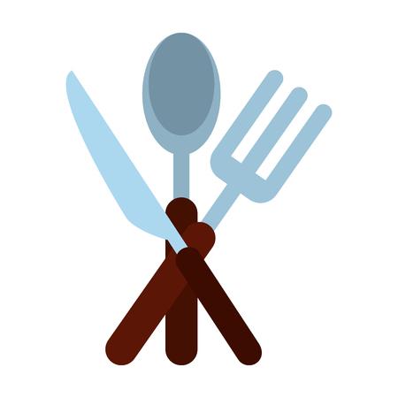 Restaurant cutlery symbol icon vector illustration graphic design