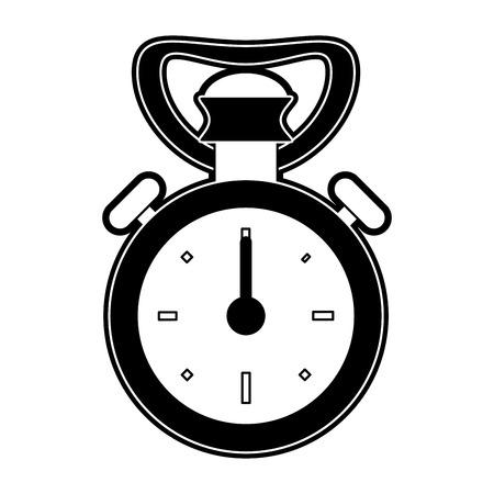 Vintage sport chronometer icon vector illustration graphic design Illustration
