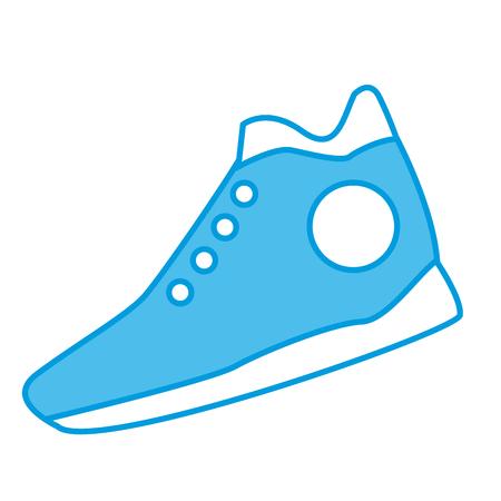 Sport shoe isolated icon vector illustration graphic design