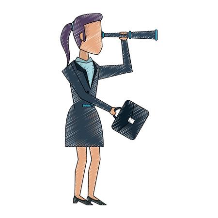 Business woman avatar icon vector illustration graphic design
