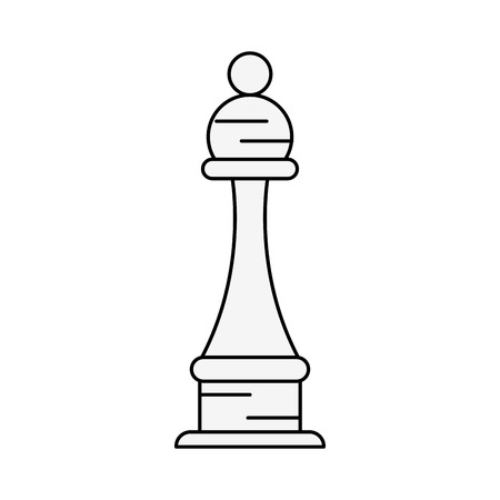 Chess piece isolated icon vector illustration graphic design