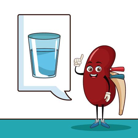 World kidney day icon vector illustration graphic design Stock Illustratie
