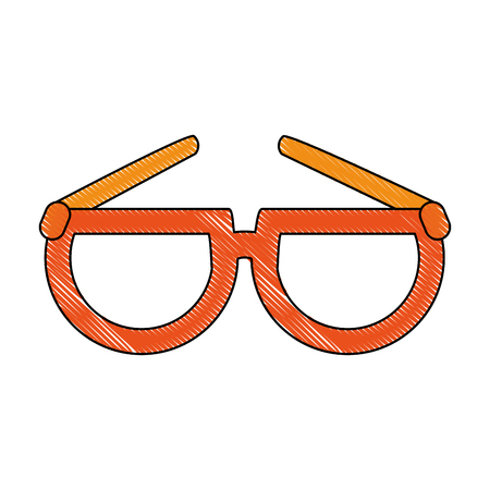 Glasses isolated symbol icon vector illustration graphic design