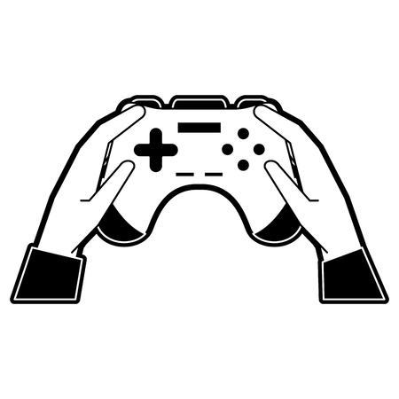 Gamepad for videogames icon vector illustration graphic design