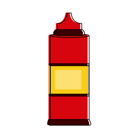 Sauces bottle isolated icon vector illustration graphic design. Ilustrace