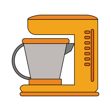 Coffee maker machine icon vector illustration graphic design Illustration