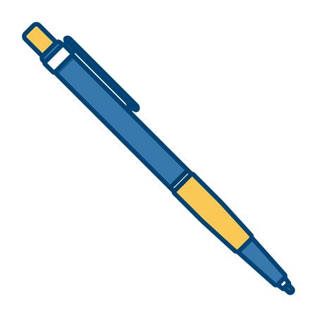 Pen mock up icon vector illustration graphic design