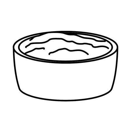 Progettazione grafica messicana dell'illustrazione di vettore dell'icona della salsa di peperoncini rossi Archivio Fotografico - 94466258