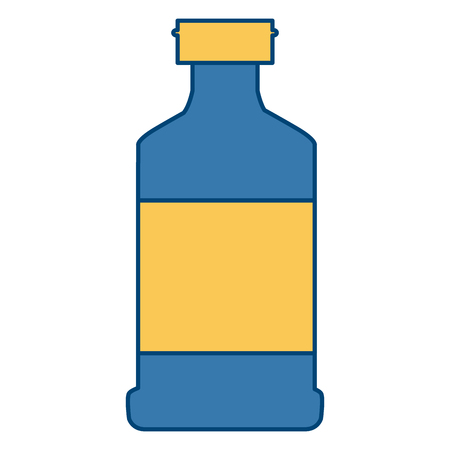 Container bottle isolated icon vector illustration graphic design