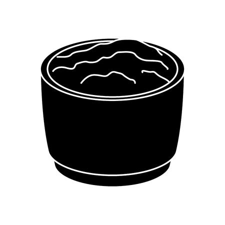 Mexican chili sauce icon vector illustration graphic design