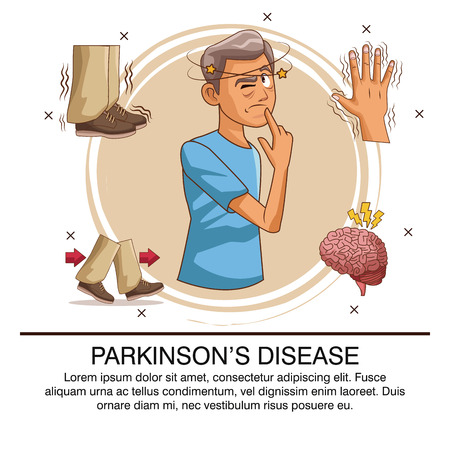 Parkinsons disease infographic icon vector illustration graphic design