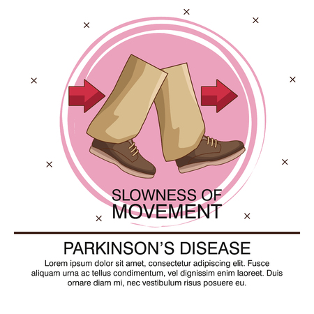 Parkinsons disease infographic icon vector illustration graphic design Stock Vector - 94669303
