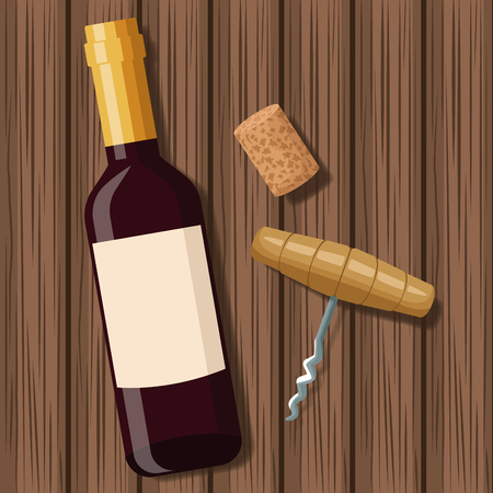 Wine bottle design icon vector illustration graphic design.